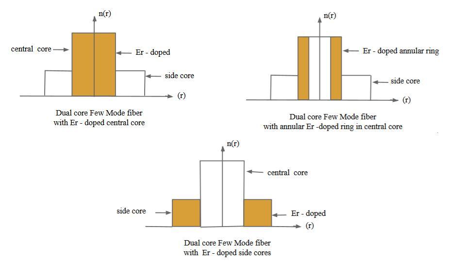 FM-EDFA_Dual Core Fiber Examples